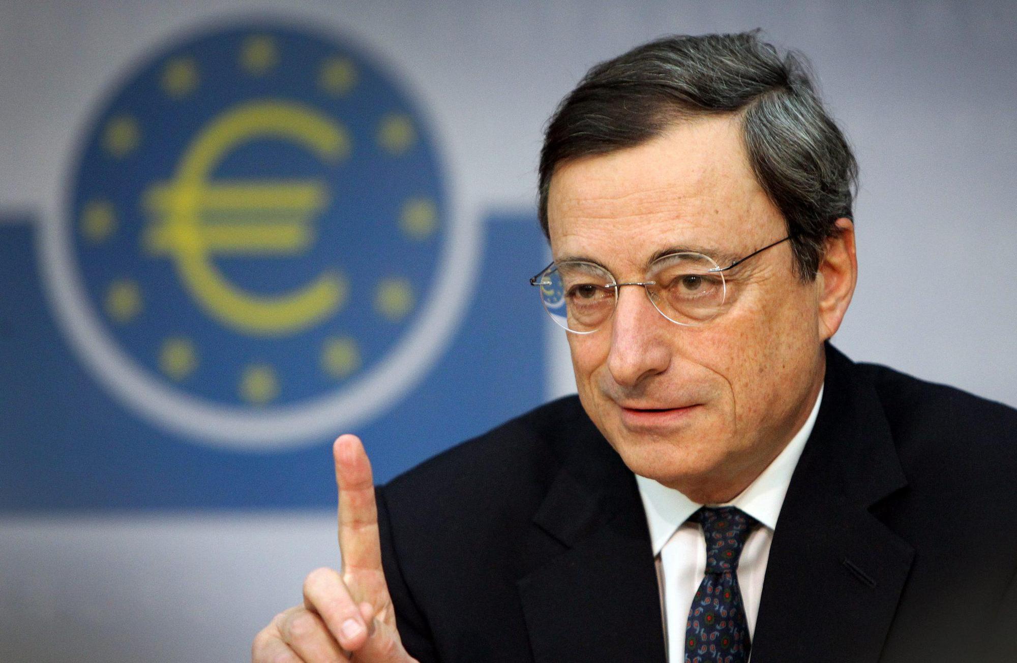Mario Draghi, Πρόεδρος ΕΚΤ