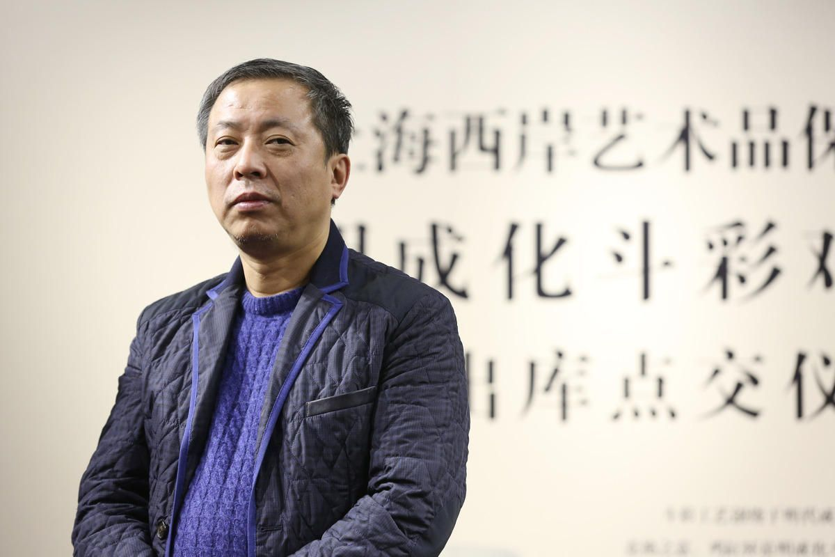 Chinese antique collector Liu Yiqian, founder of Long Museum,