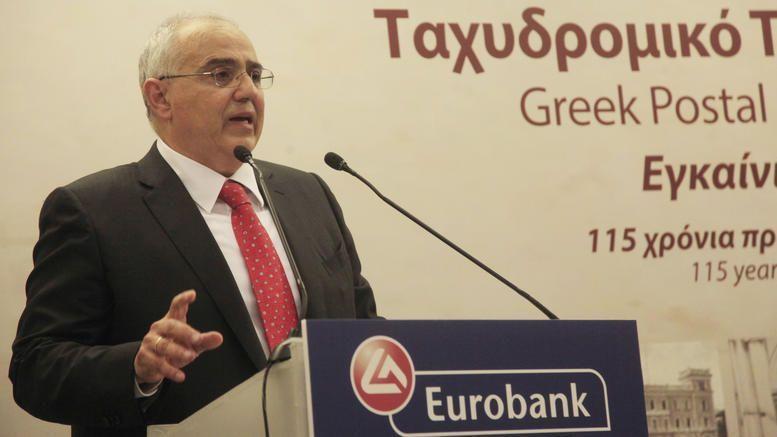 Νίκος Καραμούζης, ετών 63. Πρόεδρος Eurobank