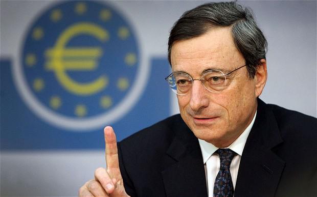 Ντράγκι, Mario Draghi, Πρόεδρος ΕΚΤ