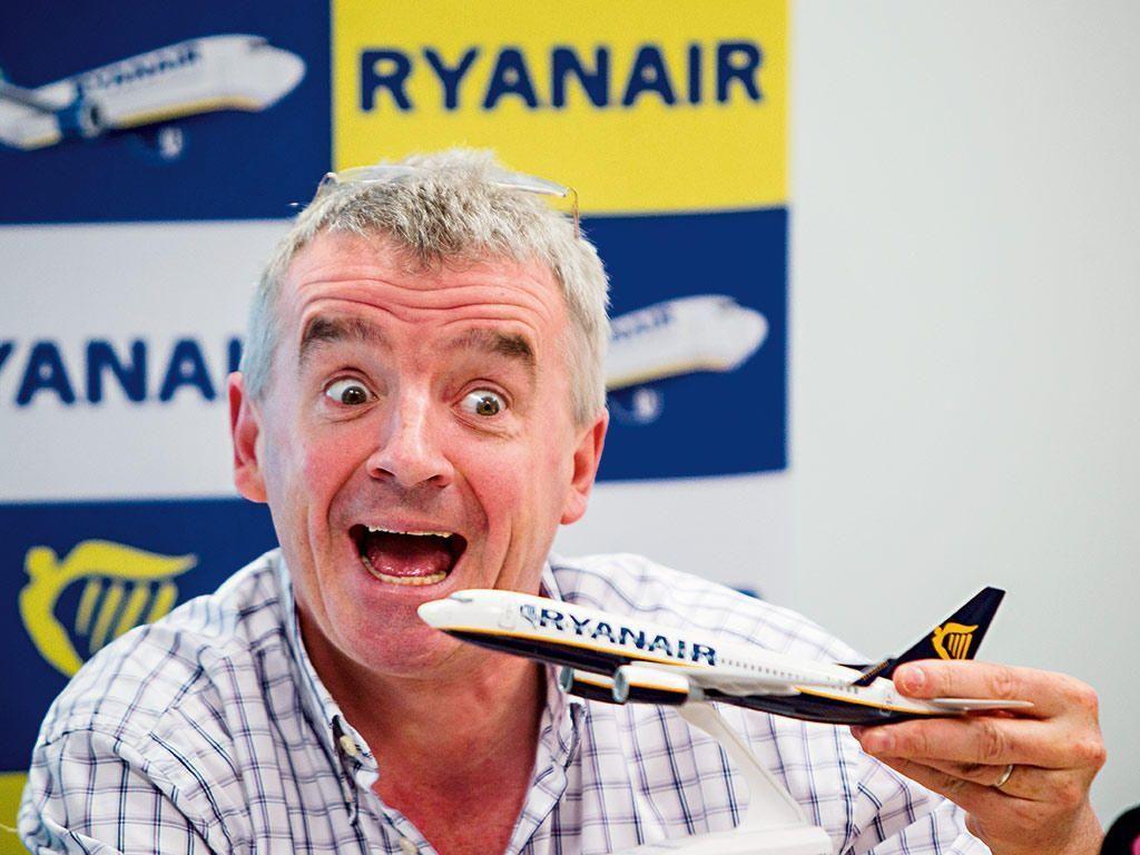 O επικεφαλής της Ryanair Michael O'Leary
