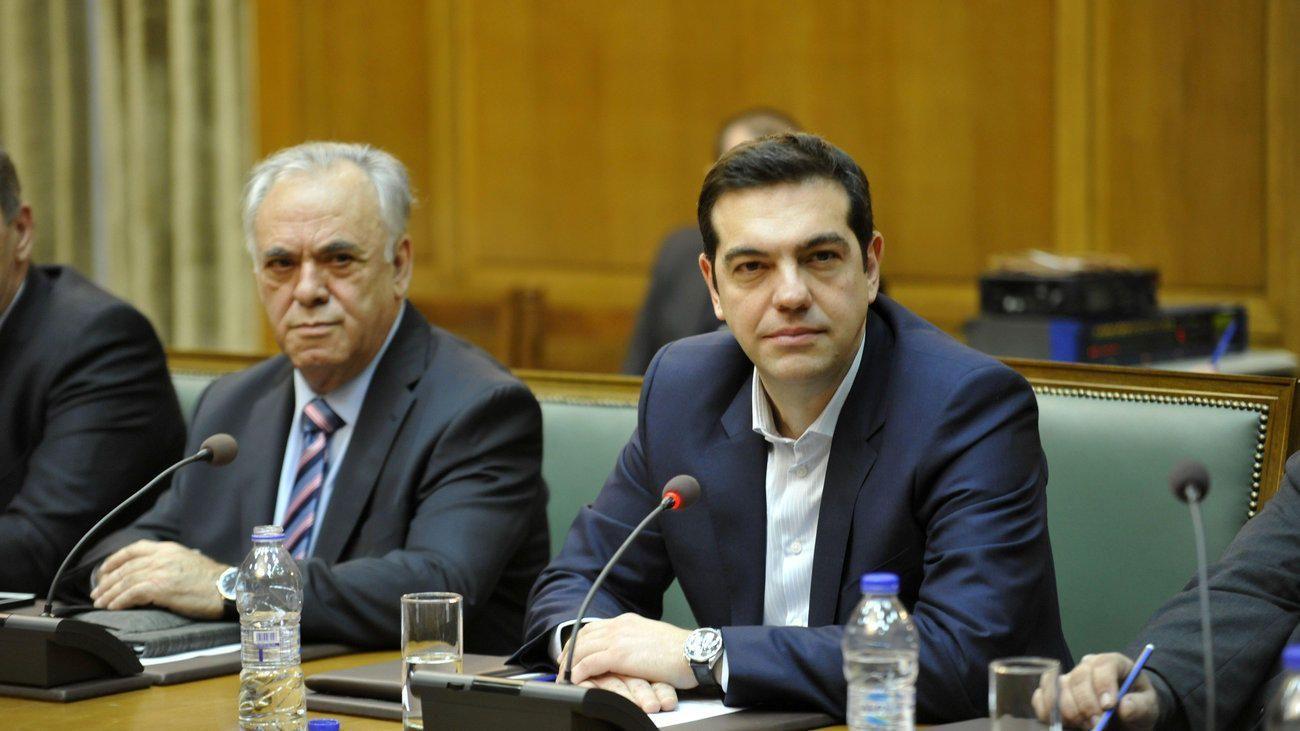 Γιάννης Δραγασάκης - Αλέξης Τσίπρας