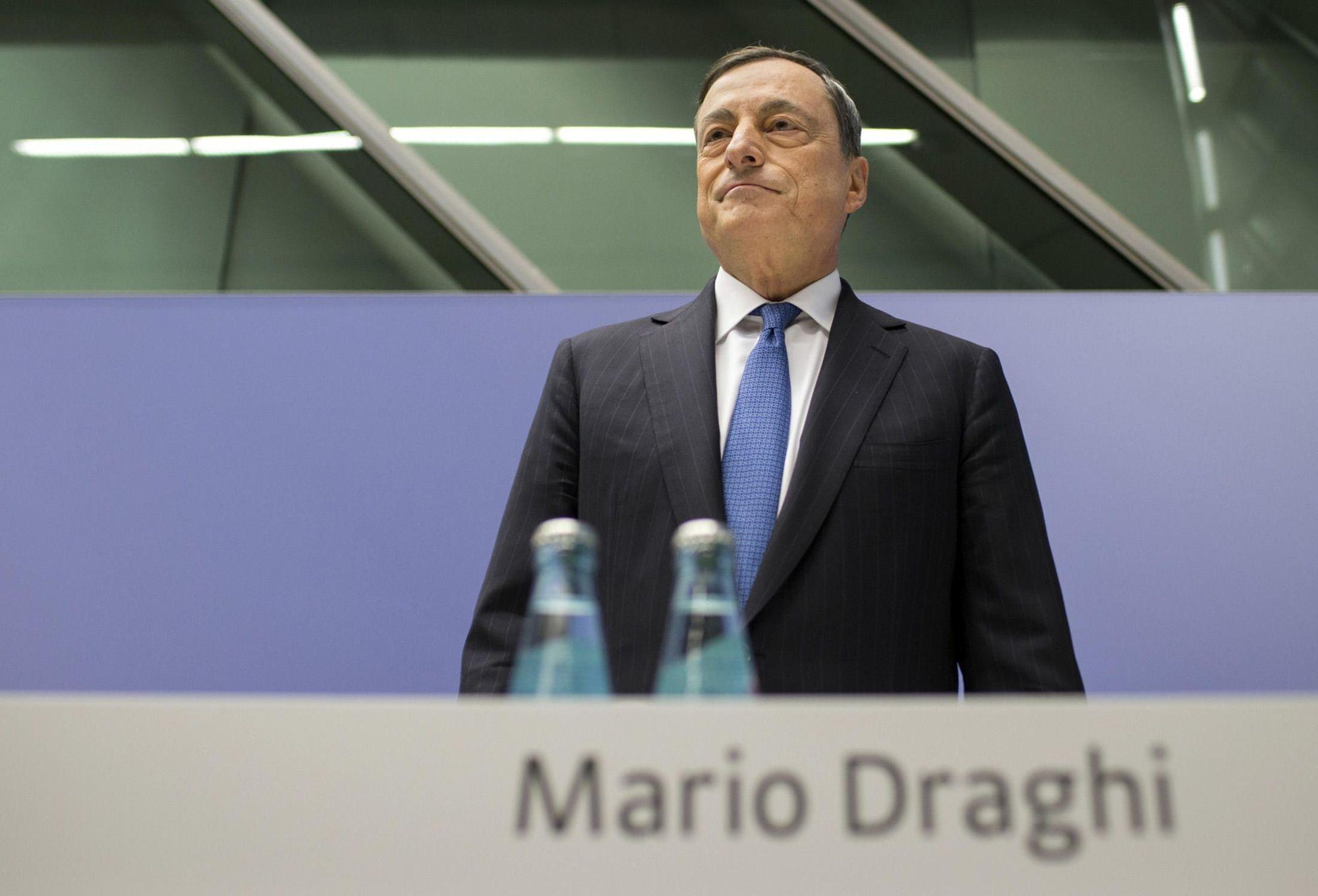 Mario Draghi, European Central Bank (ECB),