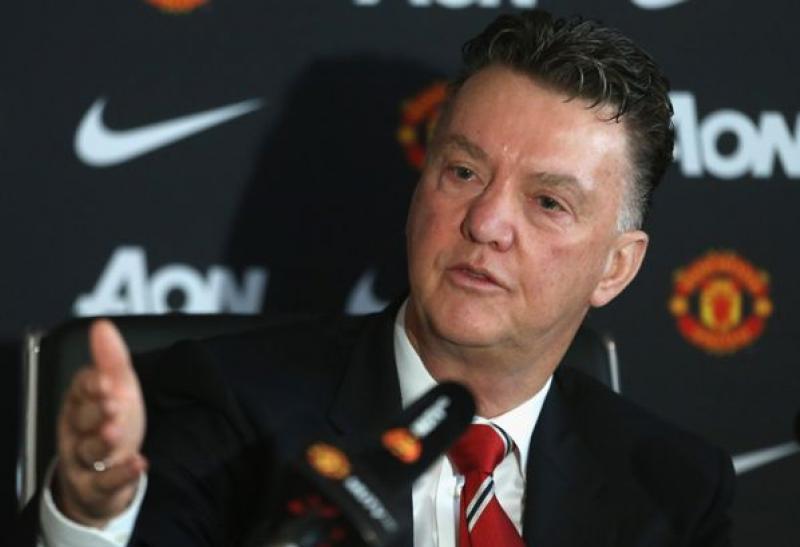 Louis van Gaal. Προπονητής Μanchester-United