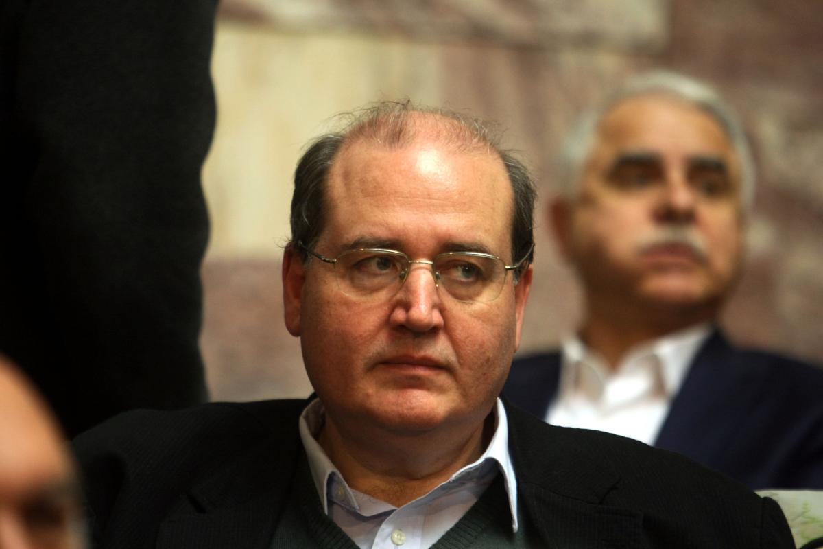 Νίκος Φίλης. Βουλευτής ΣΥΡΙΖΑ