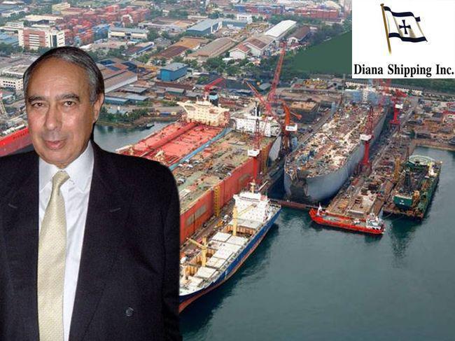 Συμεών Παληός Diana Shipping