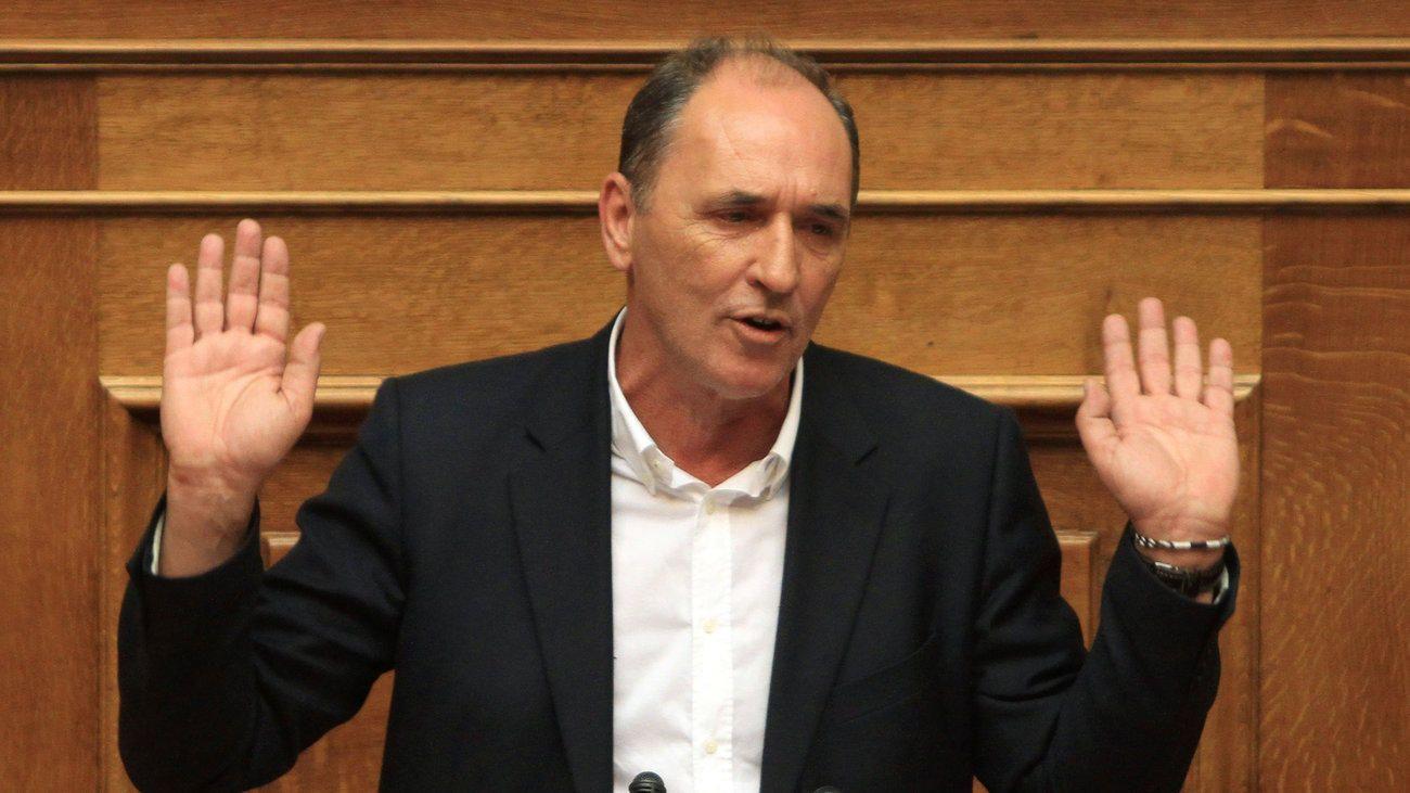 Γιώργος Σταθάκης. Ετών 55. Υπουργός Σύριζα