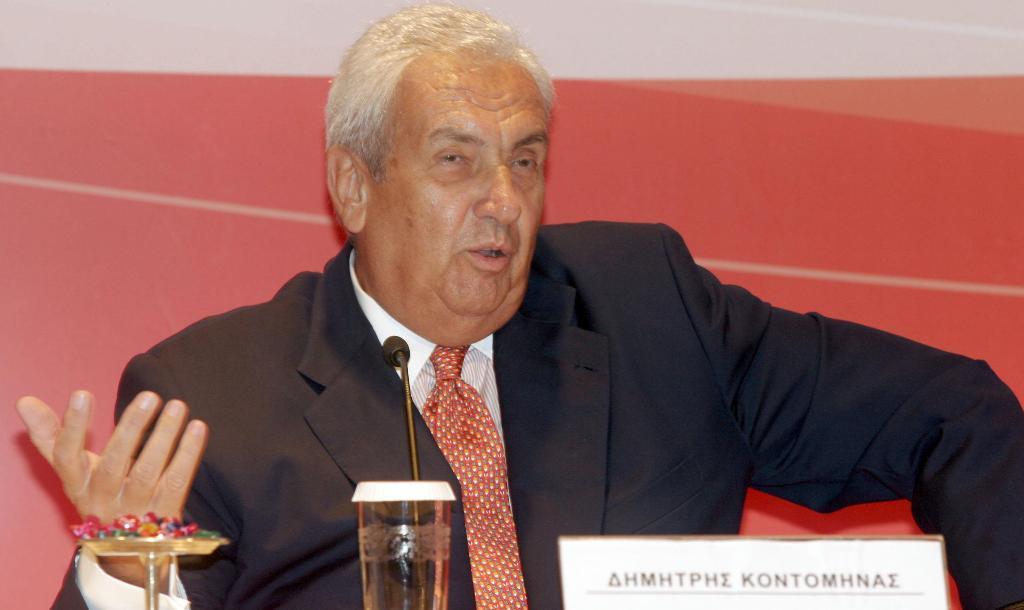 Δημήτρης Κοντομηνάς, Ετών 76, Πρόεδρος Αlpha