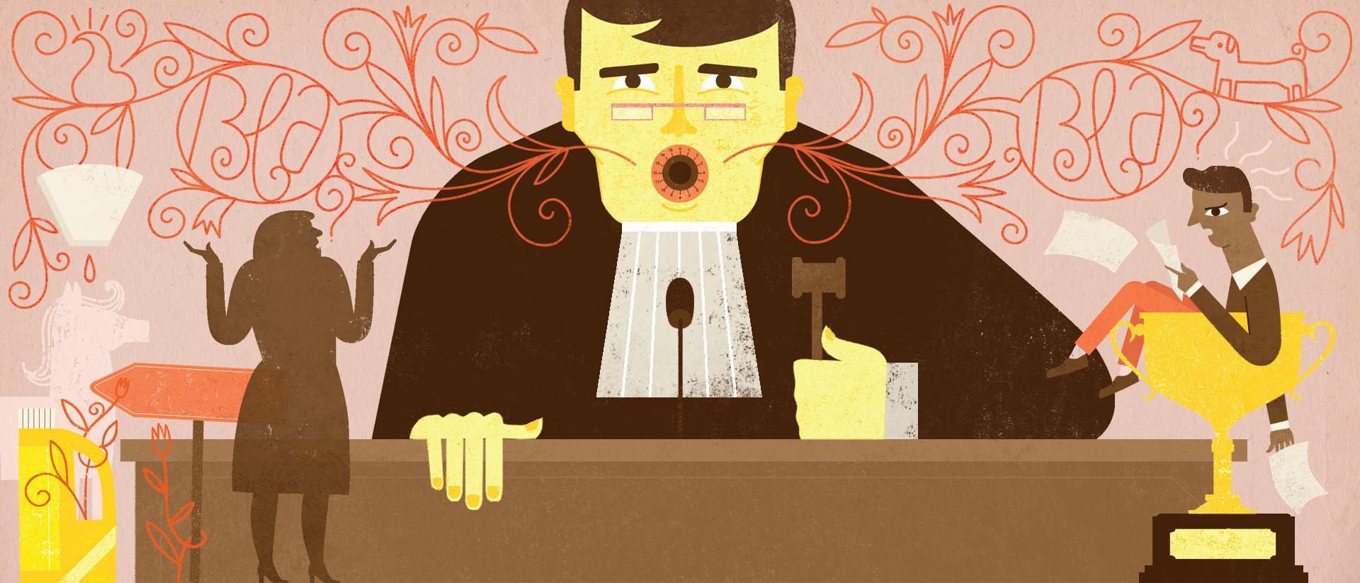 justice Illustratie- Lien Geerom