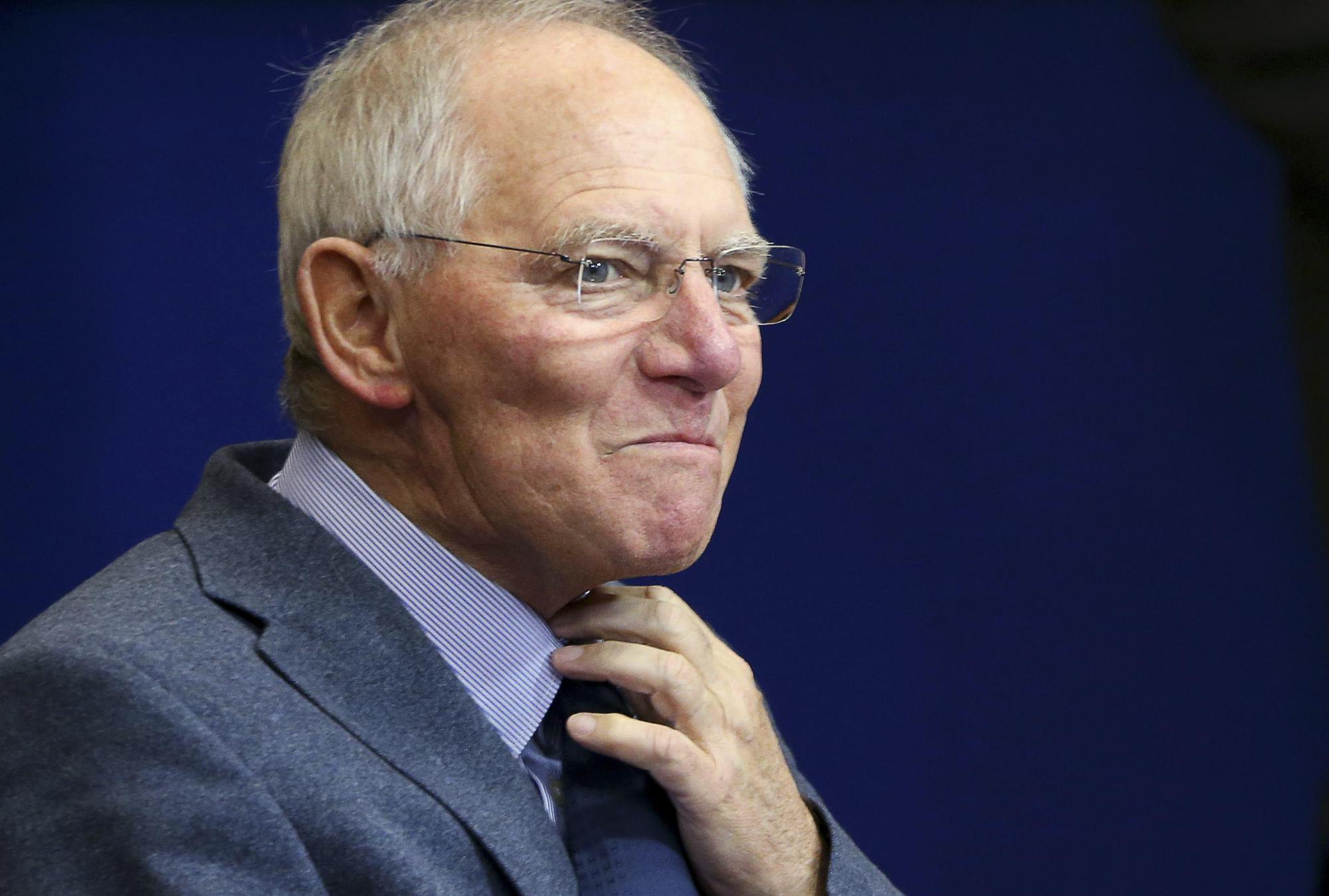 Wolfgang Schäuble. Υπουργός Οικονομικών Γερμανίας