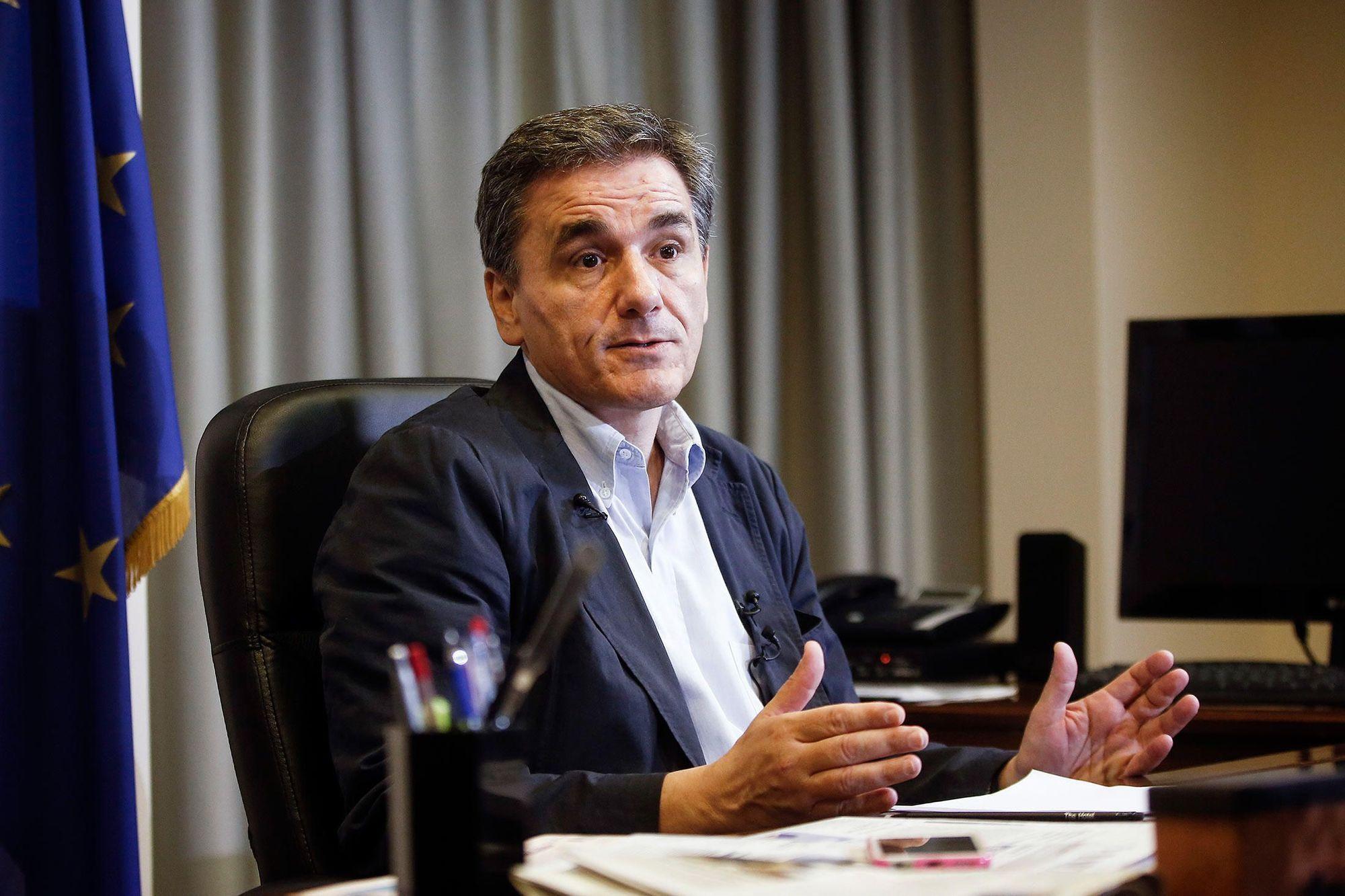 Ευκλείδης Τσακαλώτος, υπουργός Οικονομικών