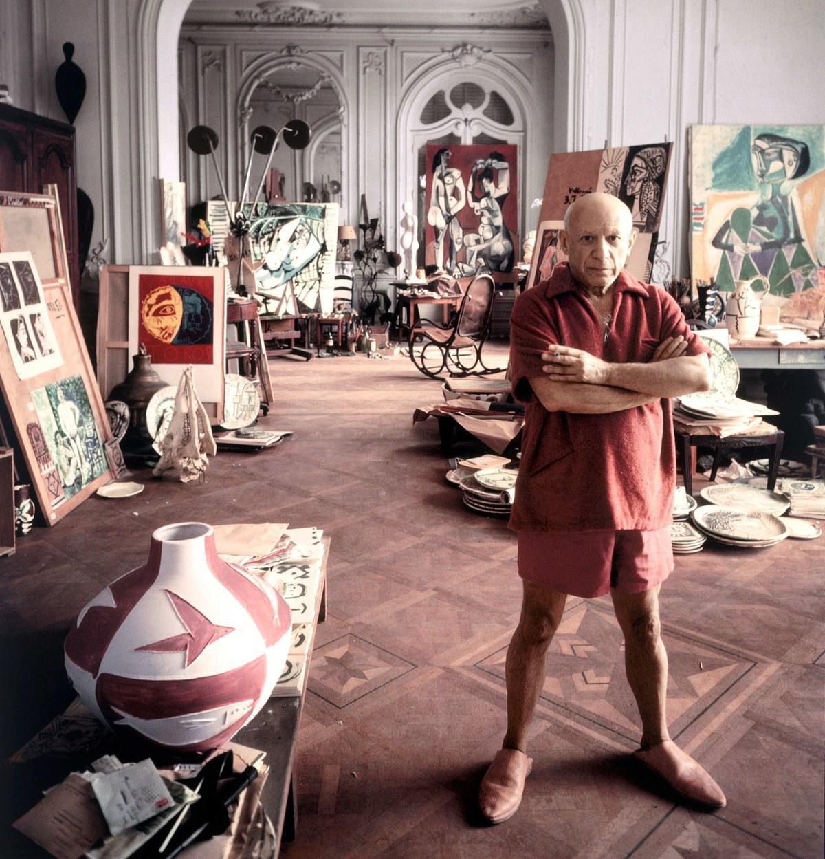 Pablo Picasso. Κάννες 1956