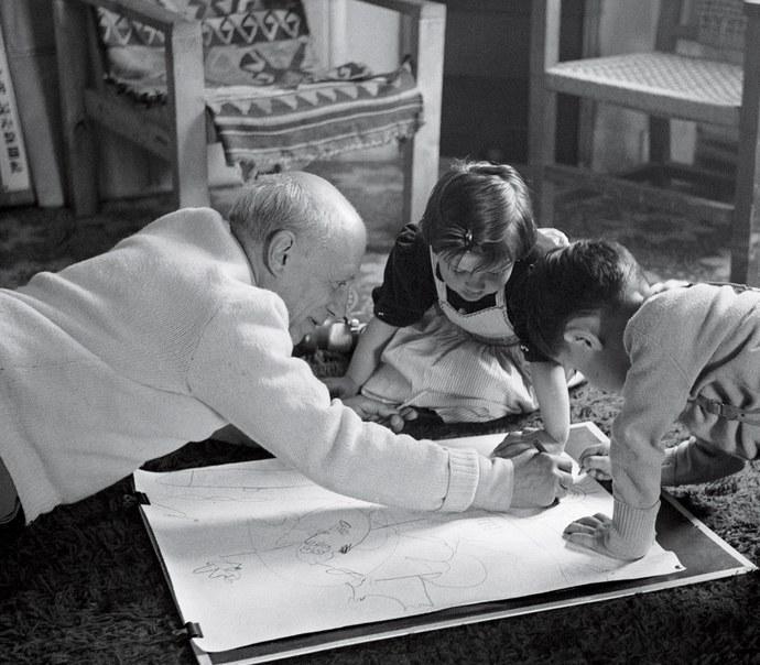 Pablo, Paloma & Claude το 1953