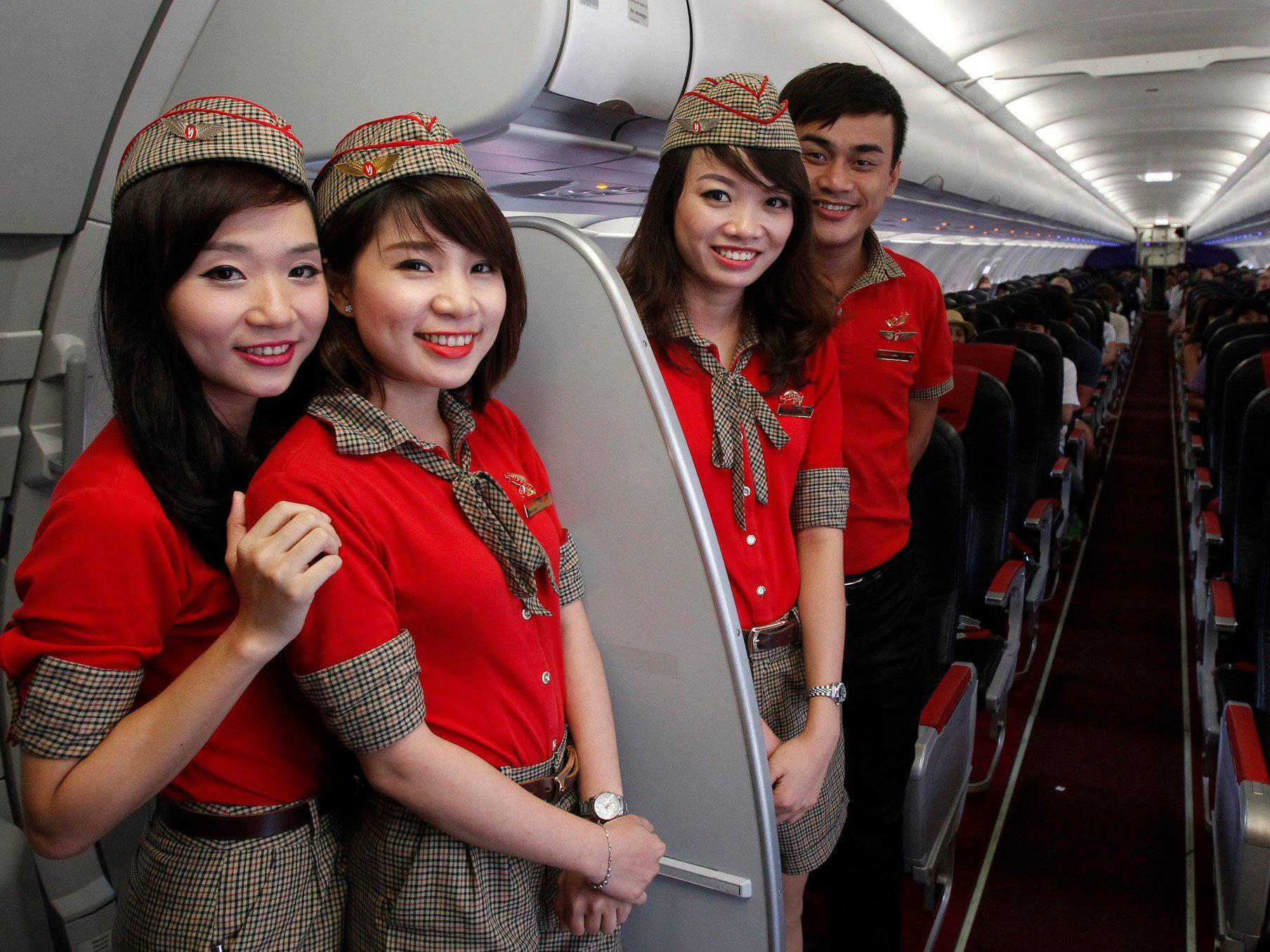 Αεροσυνοδοί της VietJet