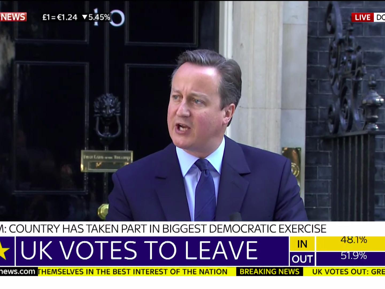 O Πρωθυπουργός David Cameron ανακοινώνει την Παρασκευή τα σχέδια παραίτησής του
