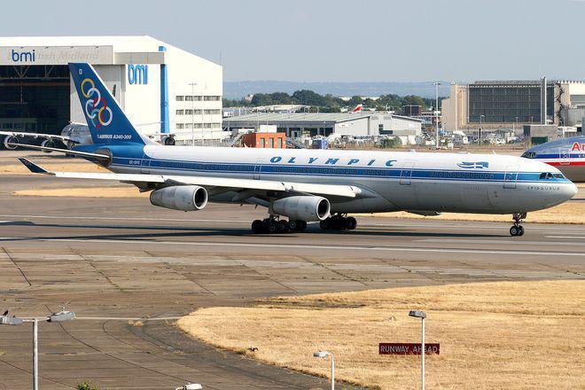 ΤΑΙΠΕΔ Πωλήθηκαν τα δύο Airbus της παλαιάς Ολυμπιακής 4,2