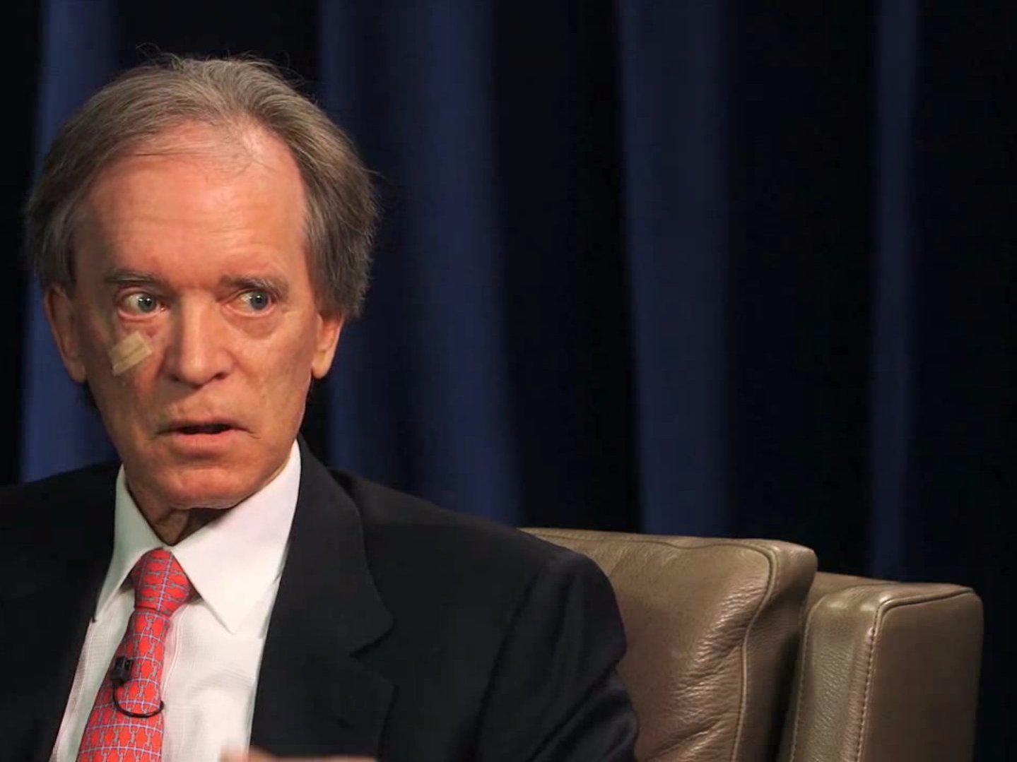 Ο Bill Gross, συνιδρυτής της PIMCO