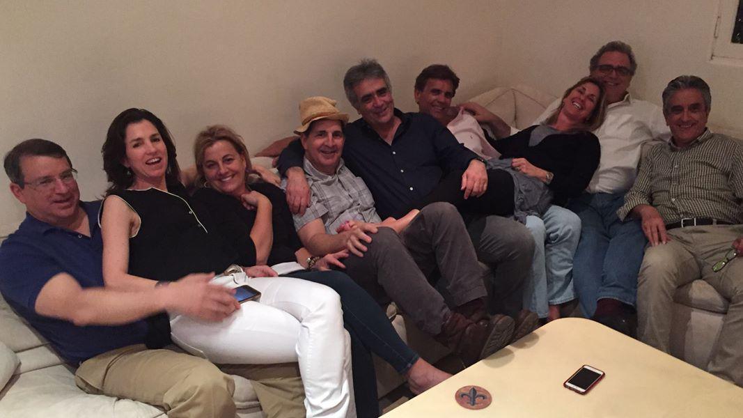 Ο Τασος Ποταμιάνος με φίλους του