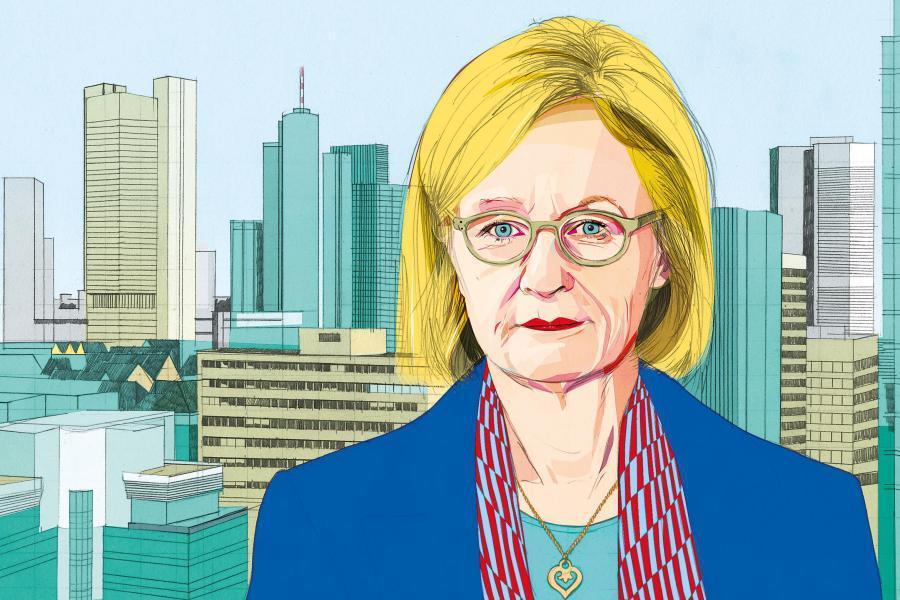 Danièle Nouy. Επικεφαλής του Μηχανισμού Ενιαίας Εποπτείας της Ευρωπαϊκής Κεντρικής Τράπεζας,