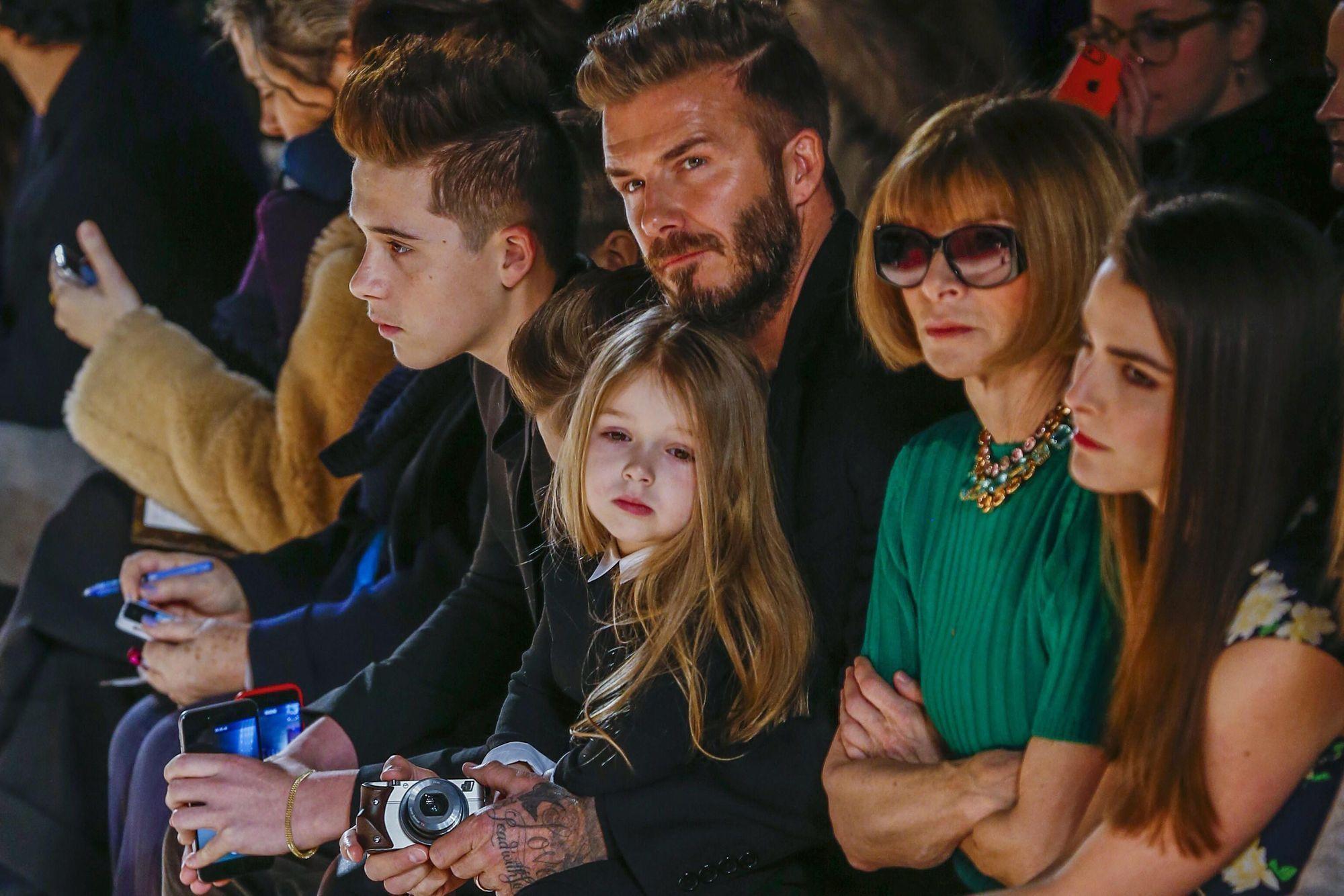 Бекхэм виктория и ее дети фото 2018