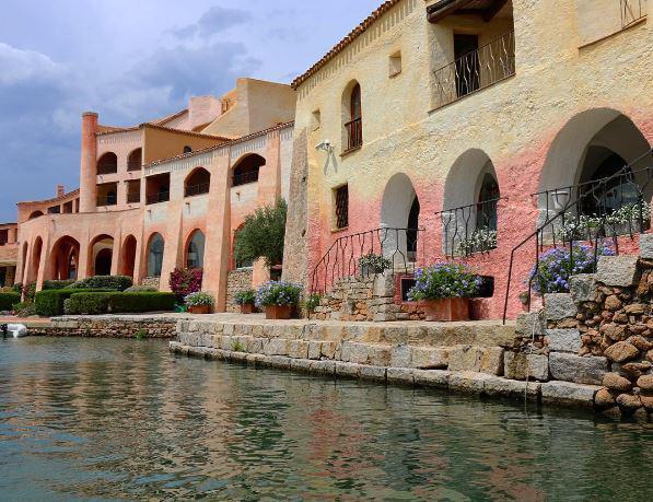Άποψη του ξενοδοχείου Cala di Volpe