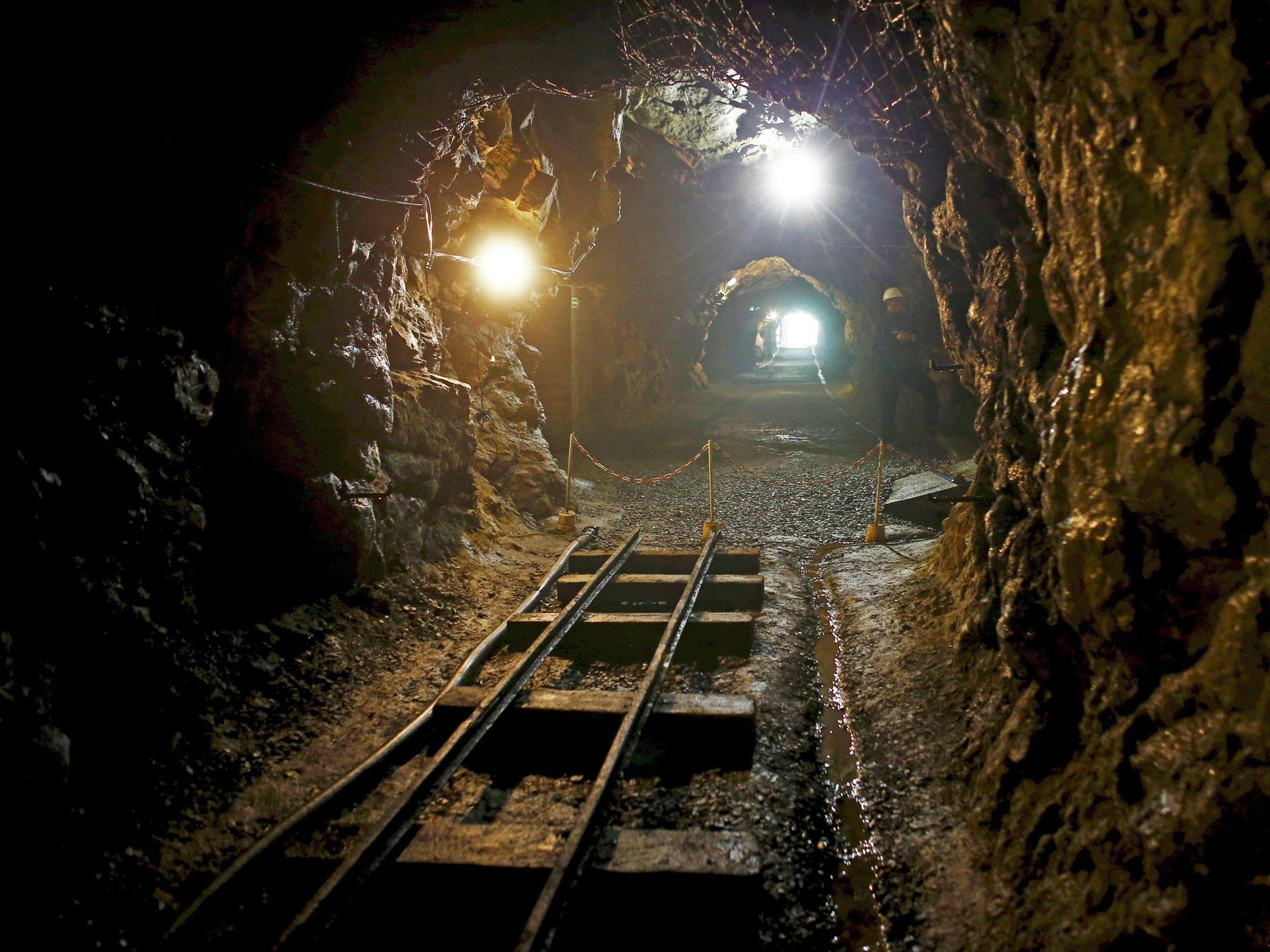 stock fixed train tunnel
