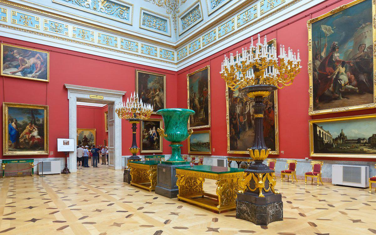 State Hermitage Museum and Winter Palace