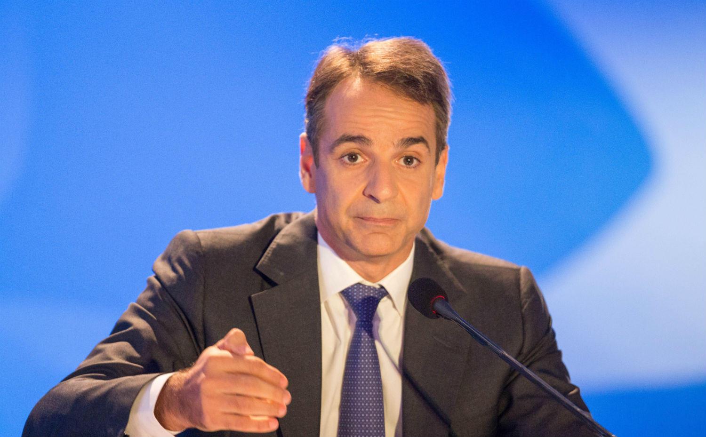 Κυριάκος Μητσοτάκης, πρόεδρος Νέας Δημοκρατίας