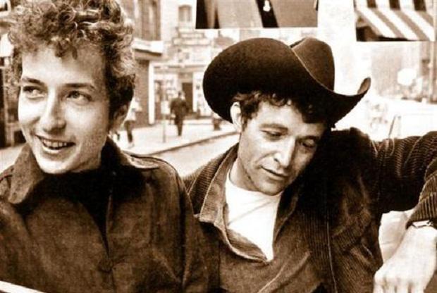 Bob Dylan και Woody Guthrie