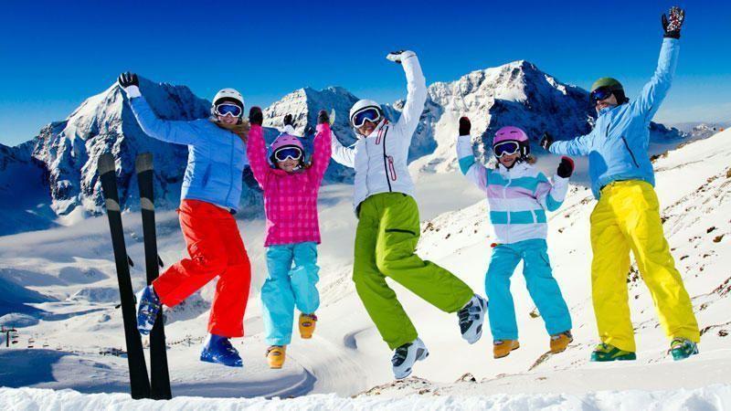 Ski euphoria.