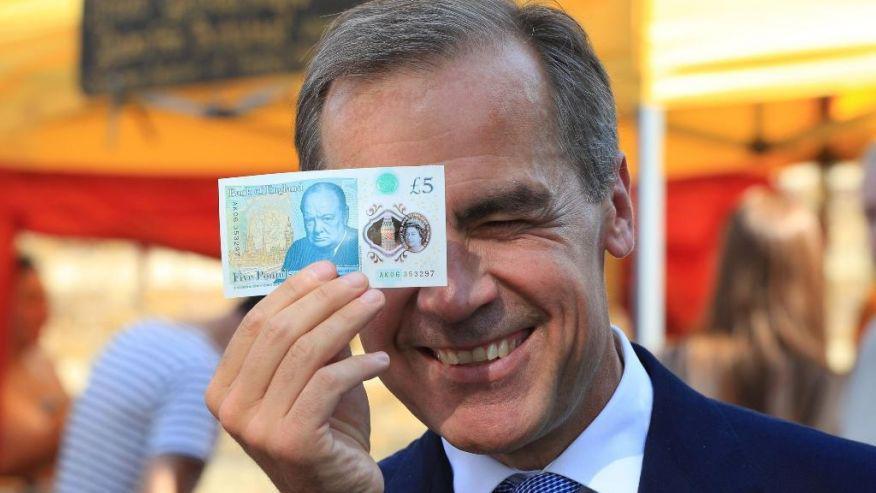 Mark Carney χαρτονομίσματα