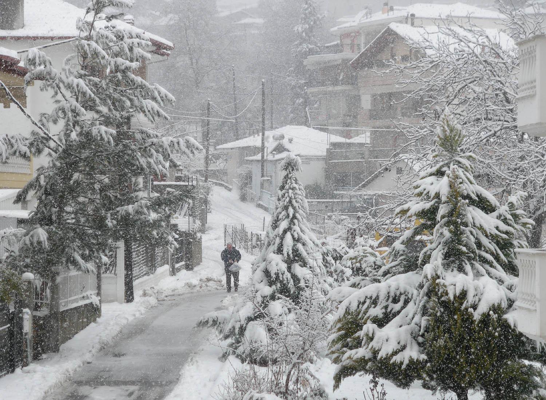 χιόνια, χιονιάς