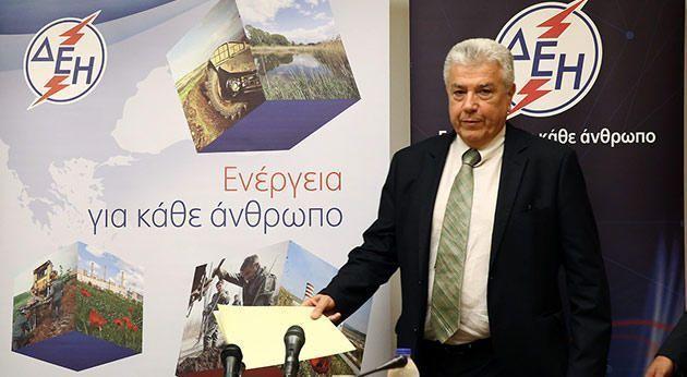 Μ. Παναγιωτάκης. Επικεφαλής ΔΕΗ