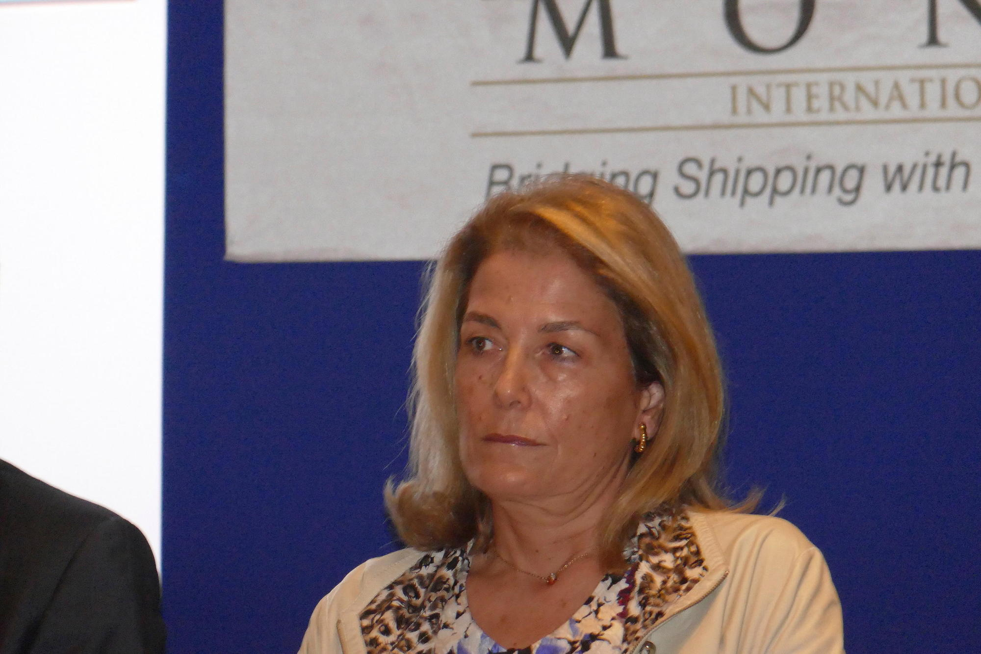 Μαρίλη Φραγκίστα, διευθύνουσα σύμβουλος της ναυτιλιακής Franco Compania Naviera
