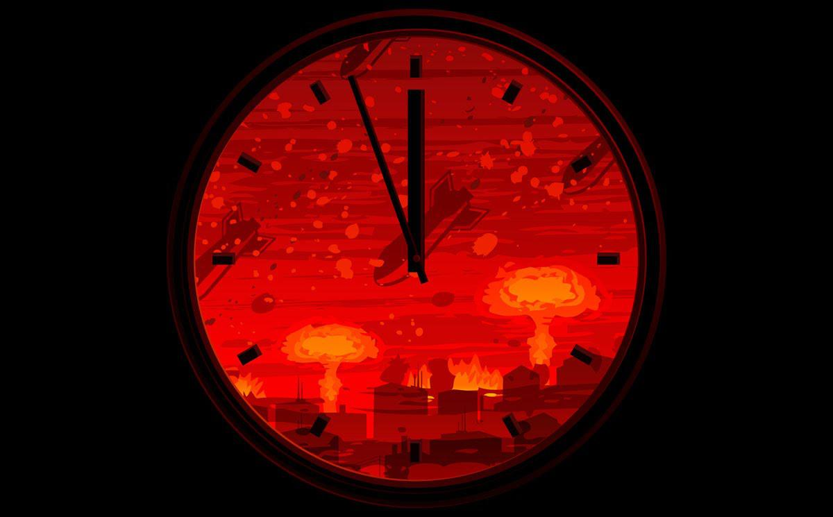 doomsday ρολόι αποκάλυψης