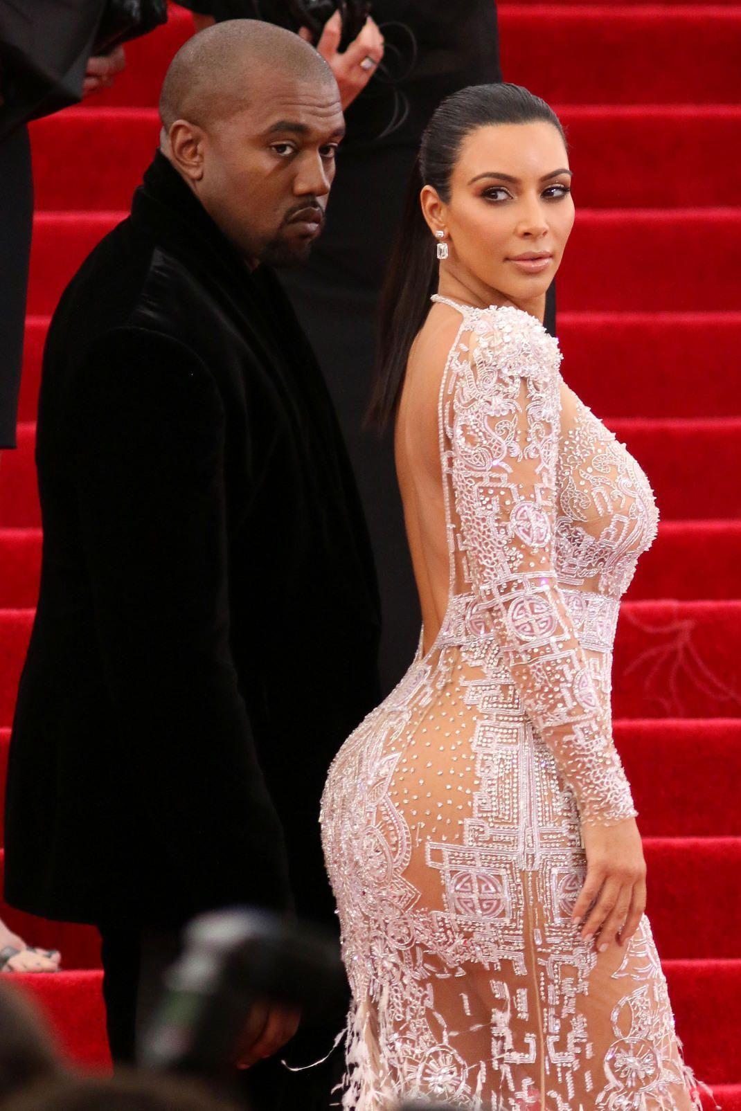 Kim Kardashian/TV persona, Kanye West/ράπερ