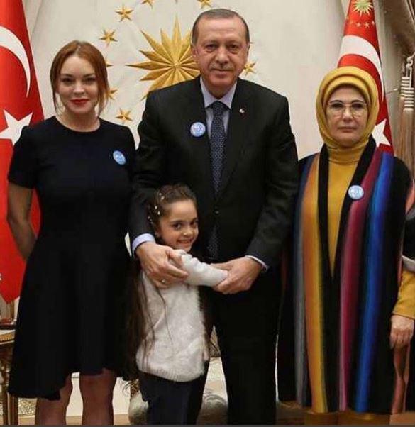 Lindsay Lohan Erdogan