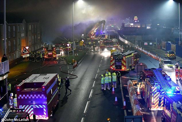 Λονδίνο, έκρηξη