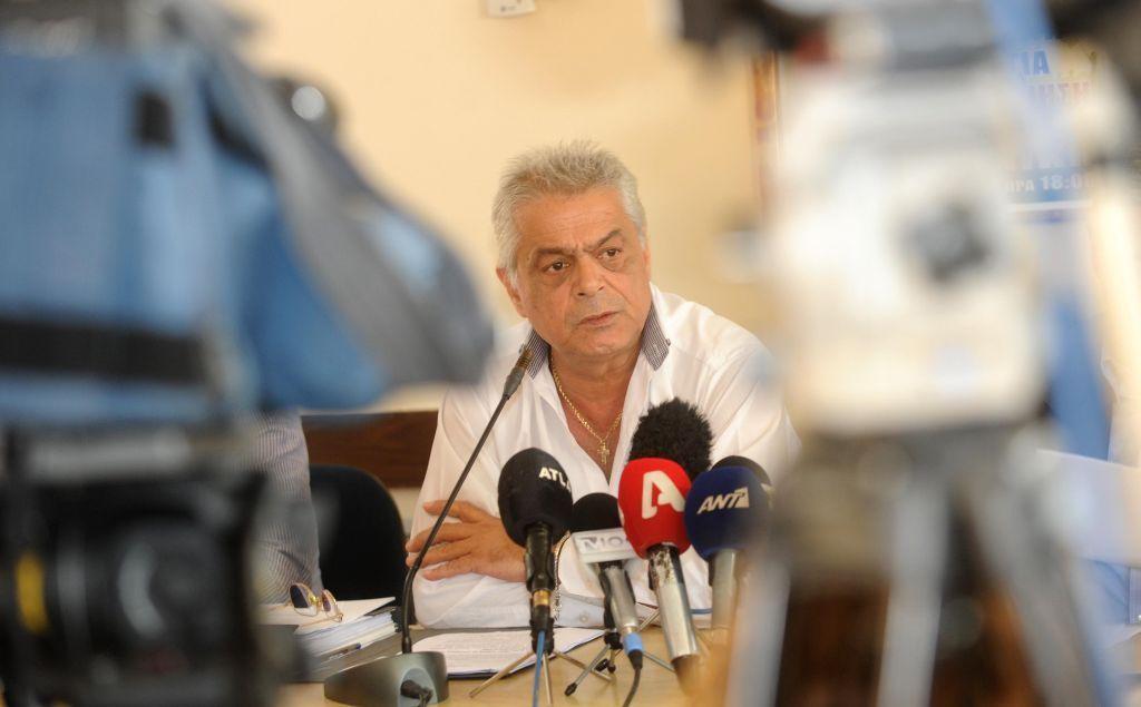 ο πρόεδρος του συνδικάτου των εργαζομένων του ΟΑΣΘ Δημήτρης Τσερμενίδης