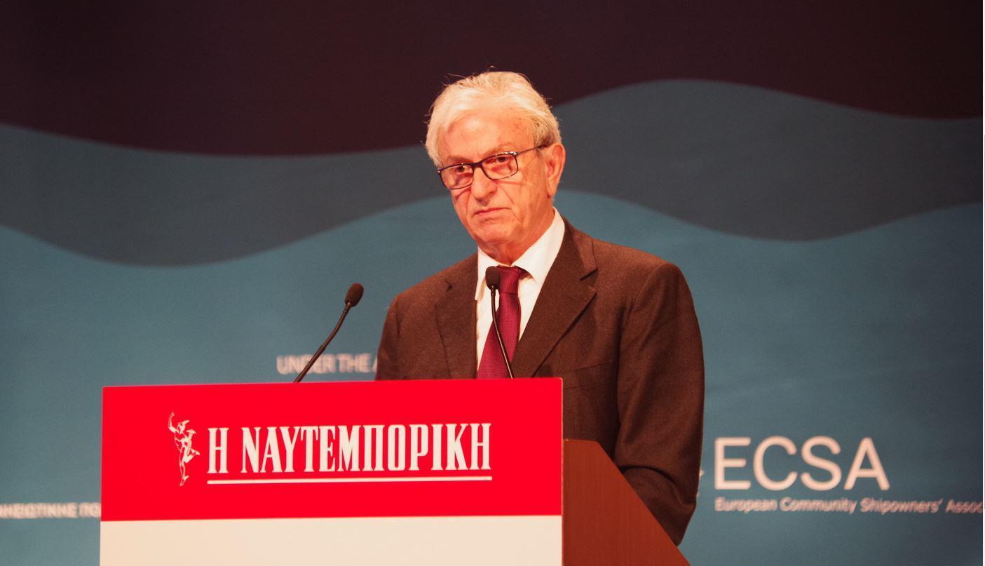 Ο πρόεδρος της Ένωσης Ελλήνων Εφοπλιστών (ΕΕΕ), Θεόδωρος Βενιάμης
