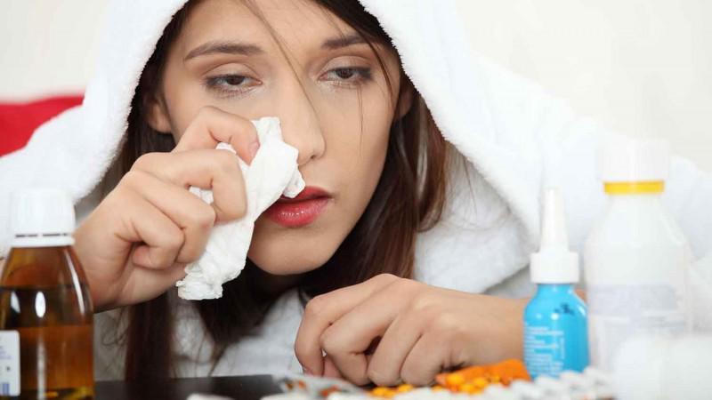 γυναίκα-γρίπη