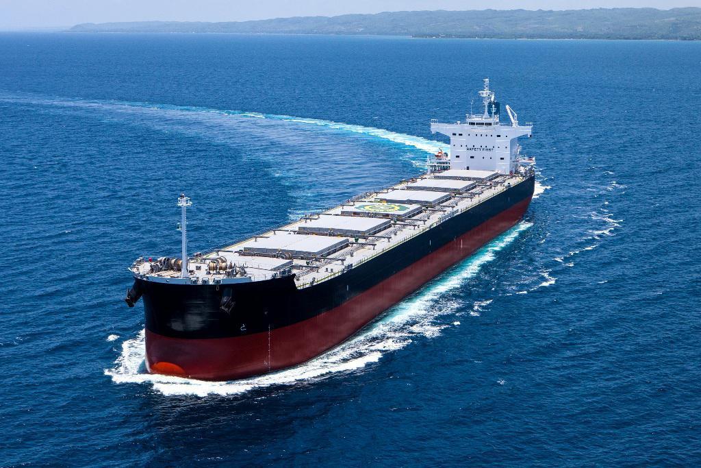 bulker ξηρό φορτίο ναυτιλία