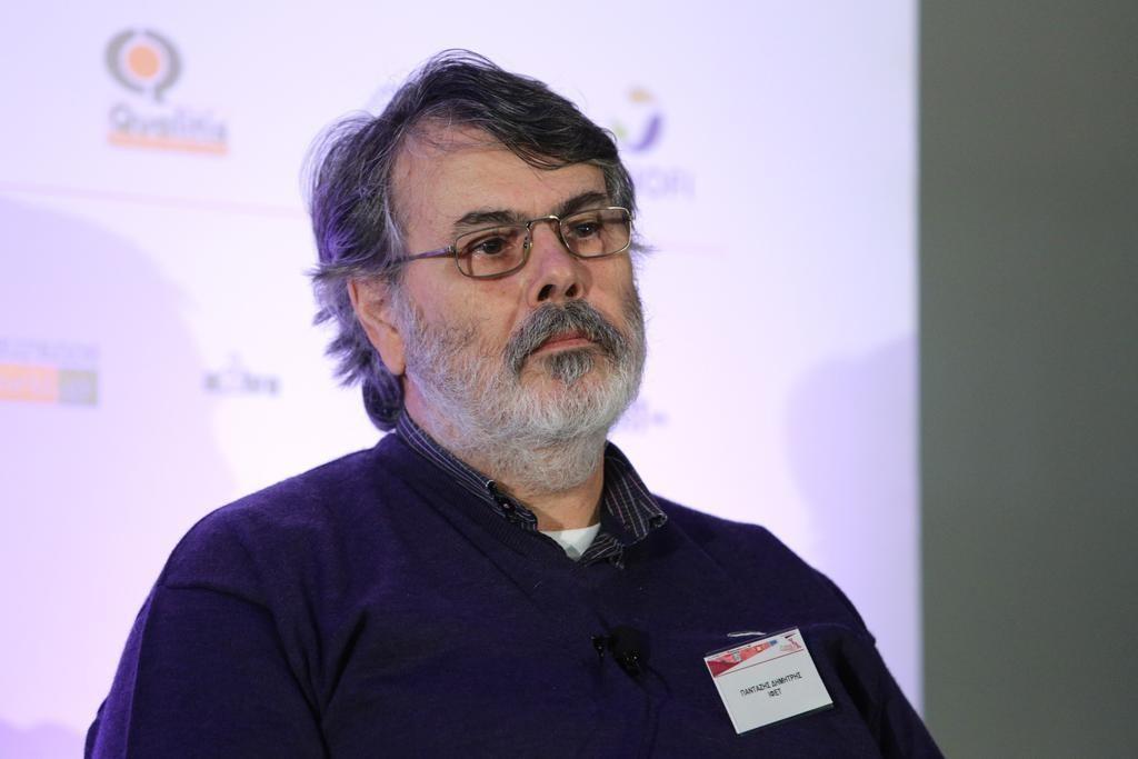 Ο κ. Δημήτρης Πανταζής, διευθύνων σύμβουλος στο Ινστιτούτο Φαρμακευτικής Έρευνας και Τεχνολογίας (ΙΦΕΤ)