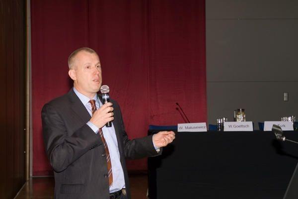 Ο κ. Wim Goettsch, γενικός διευθυντής και πρόεδρος ΔΣ του EUnetHTA
