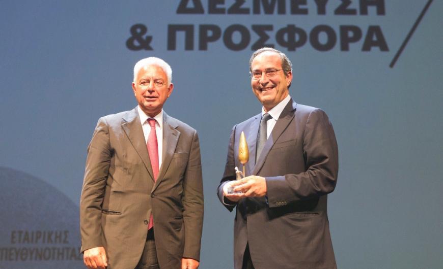 Λεωνίδας Μαρινόπουλος (δεξιά)