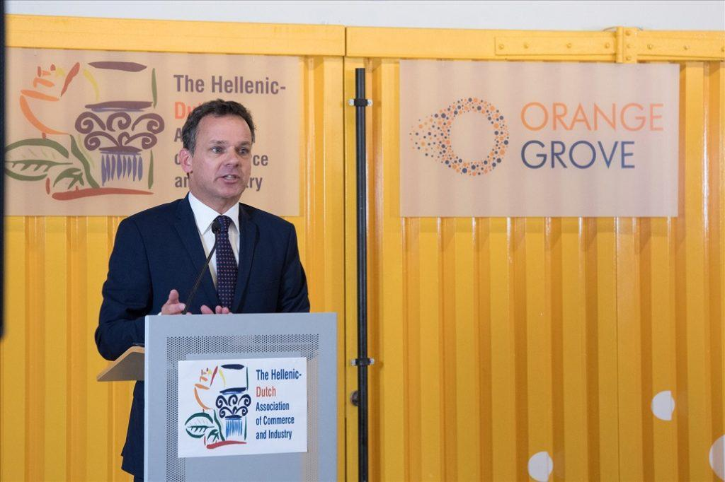 Caspar Veldkamp.Πρέσβης της Ολλανδίας στην Ελλάδα
