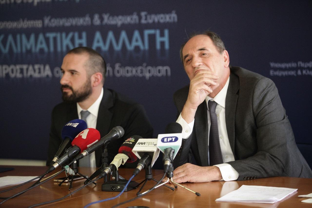 Σταθάκης Τζανακόπουλος ΔΕΣΦΑ