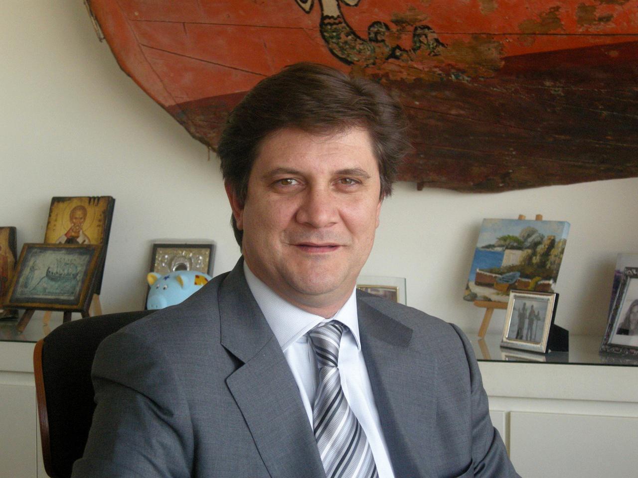 Γιώργος Ξηραδάκης, πρόεδρος του Propeller Club Πειραιά