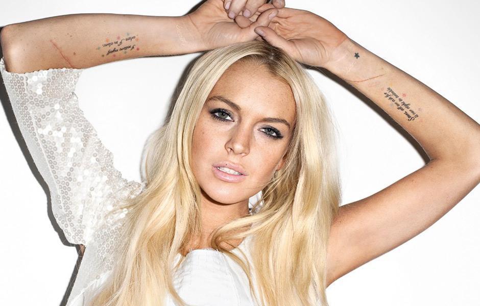 Λίντσεϊ Λόχαν Lindsay Lohan