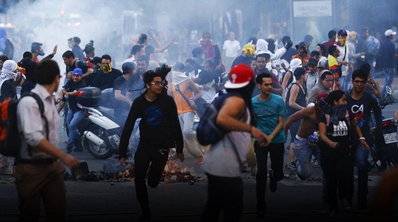 Αποτέλεσμα εικόνας για Βια στη Βενεζουελα